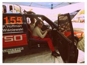 Hoffman Paweł / Michał Wiśniewski (Ich Troje) w Polonezie 2000, fot. Andżelika Hraca