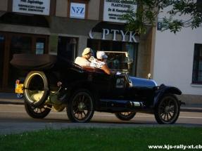Fotografia Łukasza Ludera - Rajd Pojazdów Zabytkowych start Hotel Zimowit
