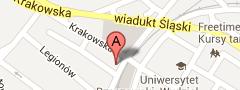 Mapa dojazdu do Automobilklub Rzeszowski
