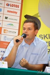 22 rajd rzeszowski - konferencja prasowa Jarosław Noworol