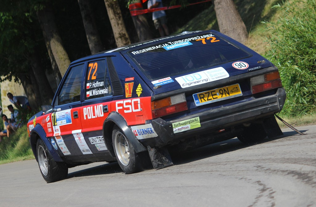 24 Rajd Rzeszowski Hoffman Wisniewski fot Ludera - polonez (2)