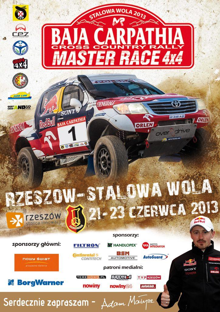 Baja Carpathia 2013 plakat