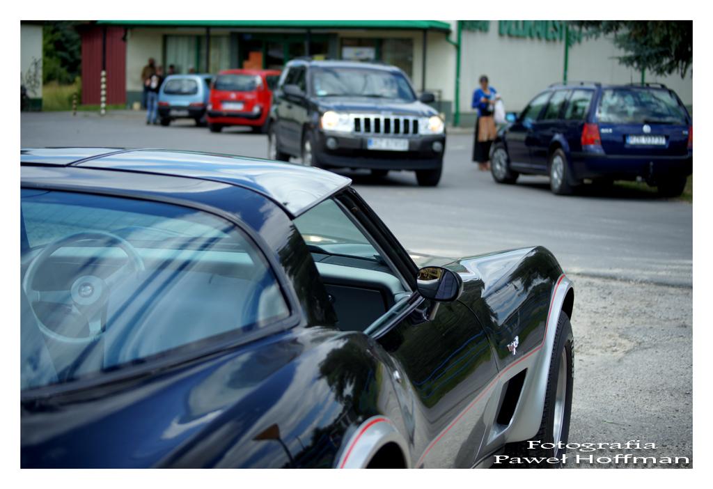 Chevrolet Corvette 350 engine poj. 5.7 litra Jana Adamczyka