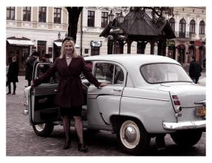 Kobieta i Moskwicz 403