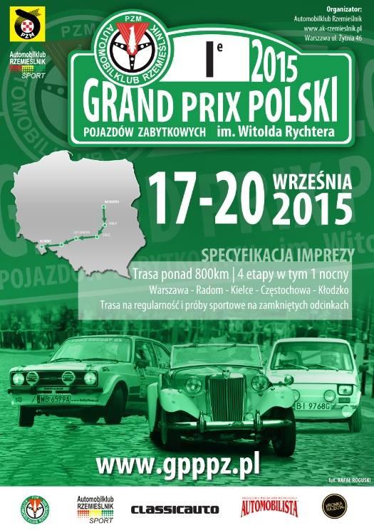 Grand Pirx Polski Pojazdów Zabytkowych 2015