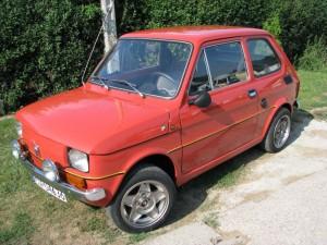 Fiat 126p Abarth Maćka Drąga
