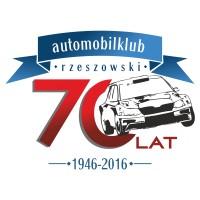 Okolicznościowe logo z okazji 70-lecia Automobilklubu Rzeszowskiego