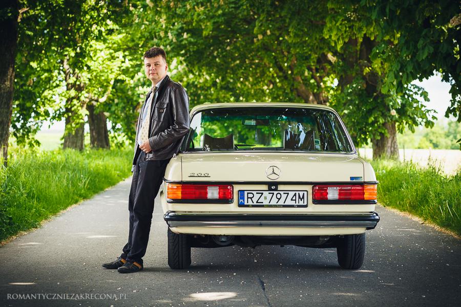 Mercedes 200 W123 i Sobiesław Żurawski