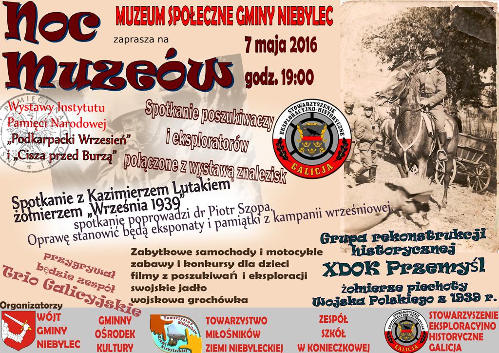 Muzeum Społeczne w Niebylcu zaprasza na noc muzeów
