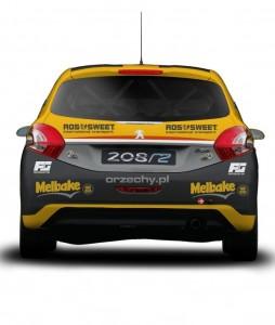 Ogryzek Peugeot 208