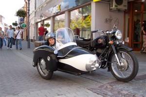 Pannonia Rzeszów 2005 - ul.Kościuszki w wózku siedzi Jakub