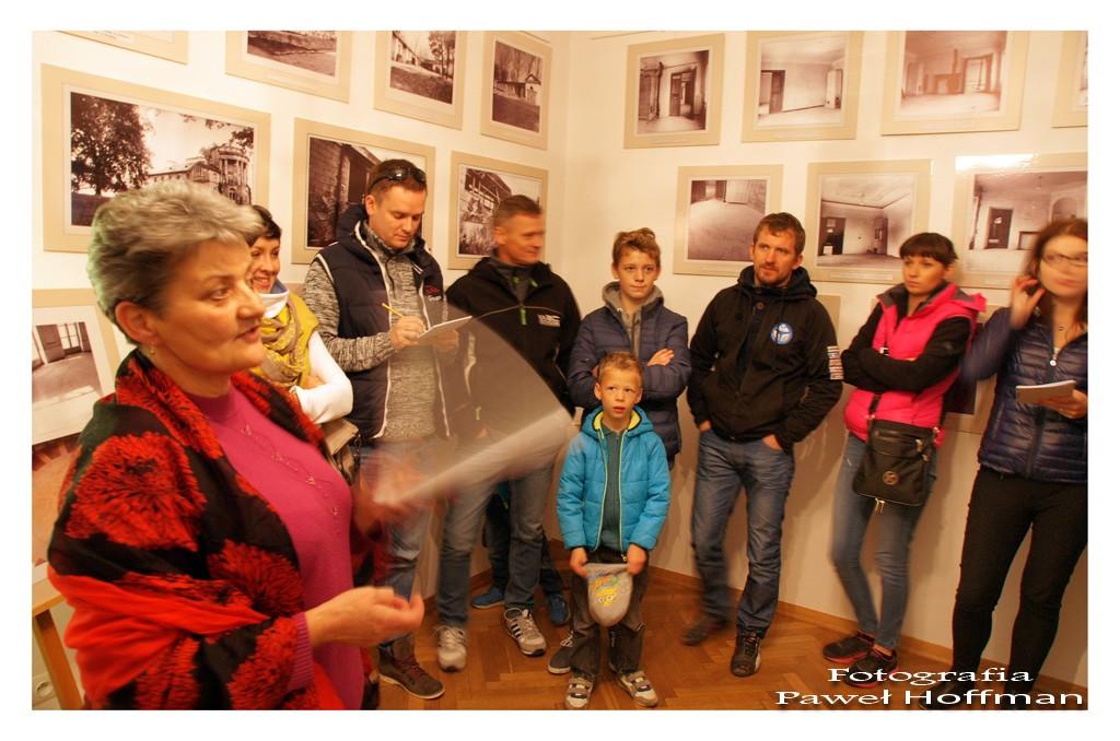 Zwiedzanie muzeum, Pałacu Dzieduszyckich w Zarzeczu