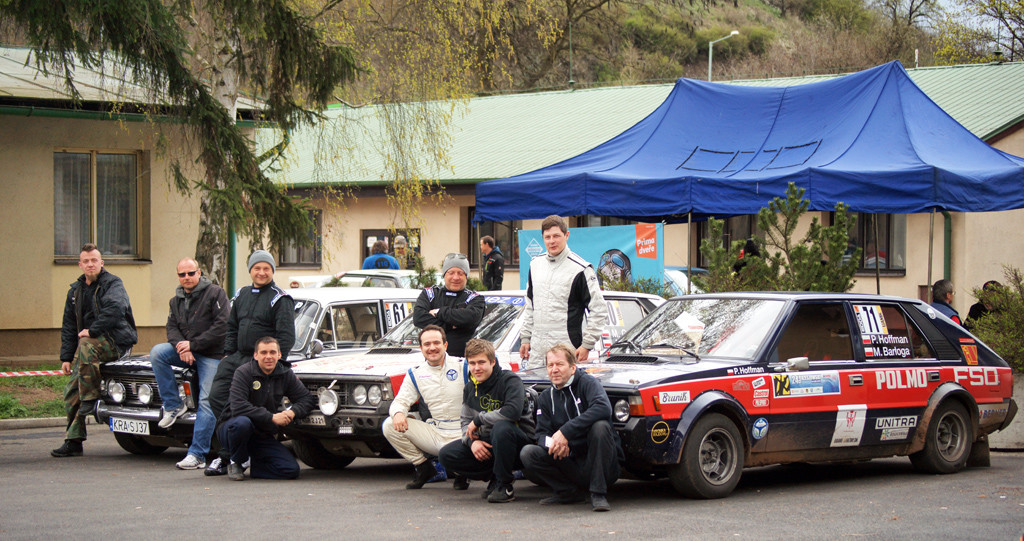 Załogi z południowej Polski, Fiat 125p 1800 (Lenart/Kuta), Polonez 2000 Rally (Galant/Firszt), Polonez 2000 Walter Wolf (Hoffman/Barłoga)