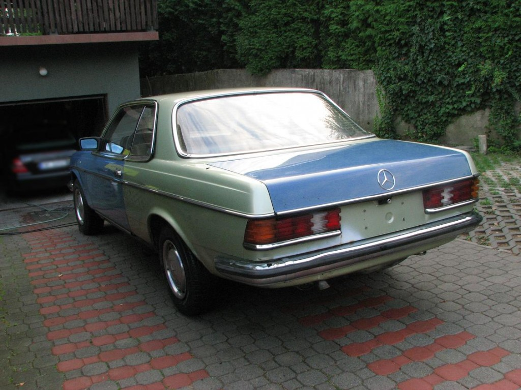 Replika Mercedes W 123 Coupe Carlsson Tomas Adam