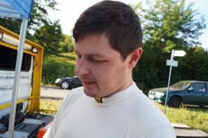 Testy przed 22 rajdem rzeszowskim Marcin barłoga