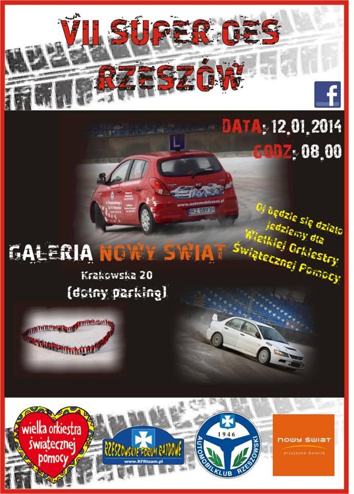 VII Super OES Rzeszow 12-01-2014