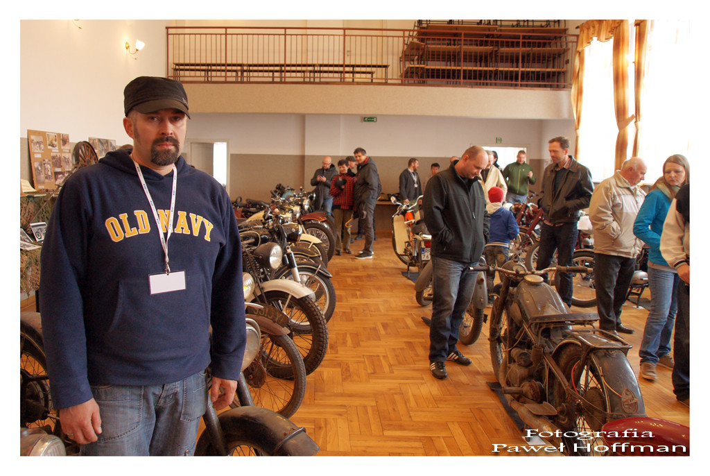 Na zdjęciu Mariusz Wilk, działacz regionalny i pomysłodawca tej cyklicznej imprezy