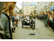 Zlot motocyklowy - Rzeszów ul 3-go Maja, 21 września 1991 rok, fot. P.Hoffman
