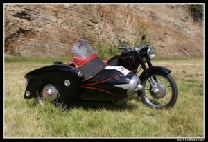 Pannonia T2 z wózkiem bocznym Duna