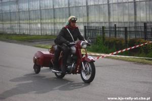 Podkarpacko Szaryskie Kryterium Weteranów - motocykl Jawa z przyczepką - OS Boguchwała