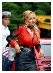 Niczym Sophia Loren pani ze Słowacji prowadziła włoskiego Fiata 600