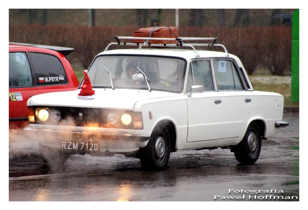 Fiat 125p z załogą Kasprzyk Adrian / Kuzin Andrzej (8 miejsce w klasie)